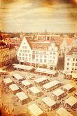 Photo ancienne de la ville de tallinn — Photo