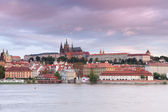 View of Vlava and Old Prague — Stock Photo