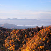 Sunrise at Smoky Mountains — Stock Photo