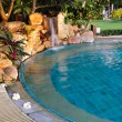 Pool with a waterfall — Stock Photo #23817539