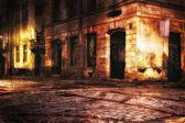 European old town street — Stock Photo