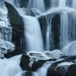Winter waterfall — Foto Stock