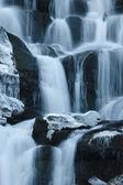 Winter waterfall — Stock Photo
