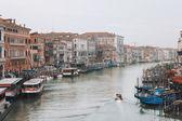 гранд-канал в венеции — Стоковое фото