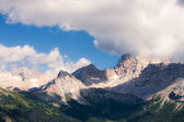 Alpine mountains landscape — Stock Photo