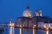 Grand canal after sunset — Stock Photo