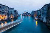 Canal grande nach sonnenuntergang — Stockfoto