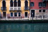 Kleinen kanal in venedig — Stockfoto