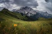 Marmolada mountains ridge — Stock Photo