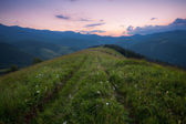 Mountains rural landscape — Stock Photo