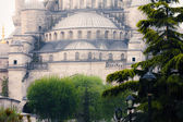 Sultanahmet Blue Mosque architecture — 图库照片