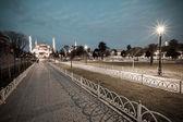 Винтажные фото мечети Султанахмет синий — Стоковое фото