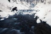 Winter waterfall — Foto de Stock