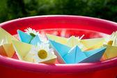 Sweet sailboats... — Stock Photo