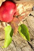 čas sklizně apple — Stock fotografie