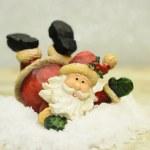 Jolly Santa Claus... — Stock Photo