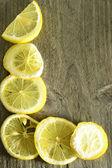 L as lemon — Stock Photo