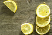 Lemon rustic — Stock Photo