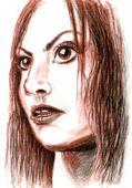 Kız portresi. — Stok fotoğraf