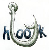 Fishing hook. — Stock Photo