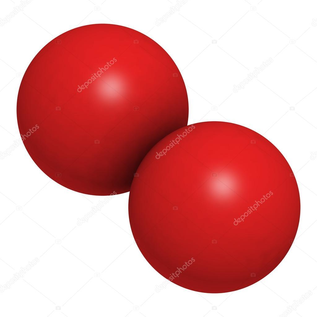 Oxygen Molecule Model Diagram Images Pictures Becuo