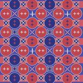 Batik javanés patrón tradicional 1 — Vector de stock