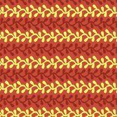 Javanese traditional pattern batik 16 — Stock Vector