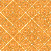 Javanese traditional pattern batik 15 — Stock Vector
