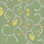 Javanese traditional pattern batik 18 — Stock Vector