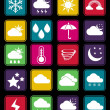 Weather effect basic icon — Stock Vector