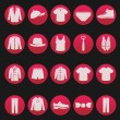 Royalty-Free Stock Vector Image: Men clothing fashion item set series 2