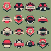 Vintage Logo Vector Set — Stock Vector