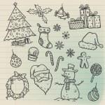 Christmas Doodle Set — Stock Vector #29047261