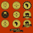 AfricVintage Label Design — Stock Vector #29957985