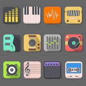 High Quality Audio Icon — Stock Vector