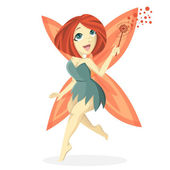 Cute bob fairy Illustration — Stock Photo