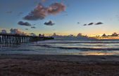 Dusk at the Oceanside Pier — Stock Photo