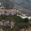 Stock Photo: SDiego Mansion - perched high in LJollhills, huge mansion.