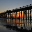 Oceanside Pier at Sunset — Stock Photo #13878602