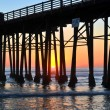 Stock Photo: Oceanside Pier at sunset