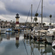 Foto de Stock  : Oceanside harbor