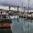 Oceanside harbor — Stock Photo