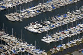 Boaters in San Diego Bay — Stock Photo