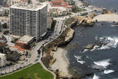 Aerial view of La Jolla, California — Stock Photo