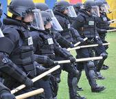 Preparing for civil unrest — Stock Photo