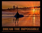 Dream The Impossible — Stock Photo