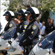 Stock Photo: Police Retirement ceremony in San Diego, California