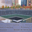 World Trade Center Memorial Fountains — Stock Photo #13897920