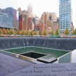 World Trade Center Memorial Fountains — Stock Photo
