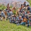 Civil War Battlefield — Stock Photo